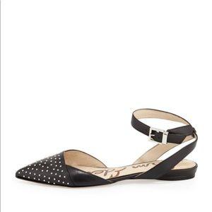 Sam Edelman Studded Pointy Toe Flats